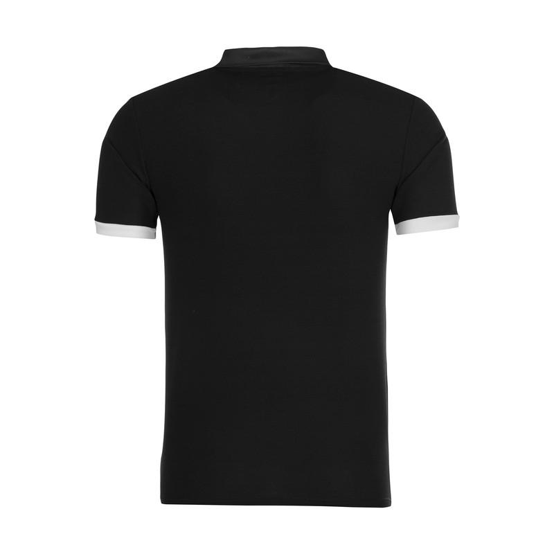 پولوشرت ورزشی مردانه مکرون مدل سویینگ رنگ مشکی