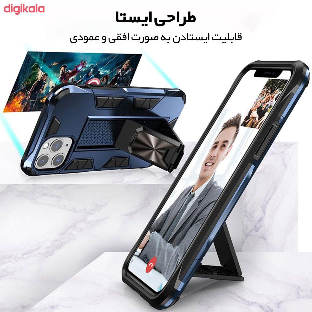 کاور لوکسار مدل Defence90s مناسب برای گوشی موبایل اپل iPhone 11 Pro main 1 2
