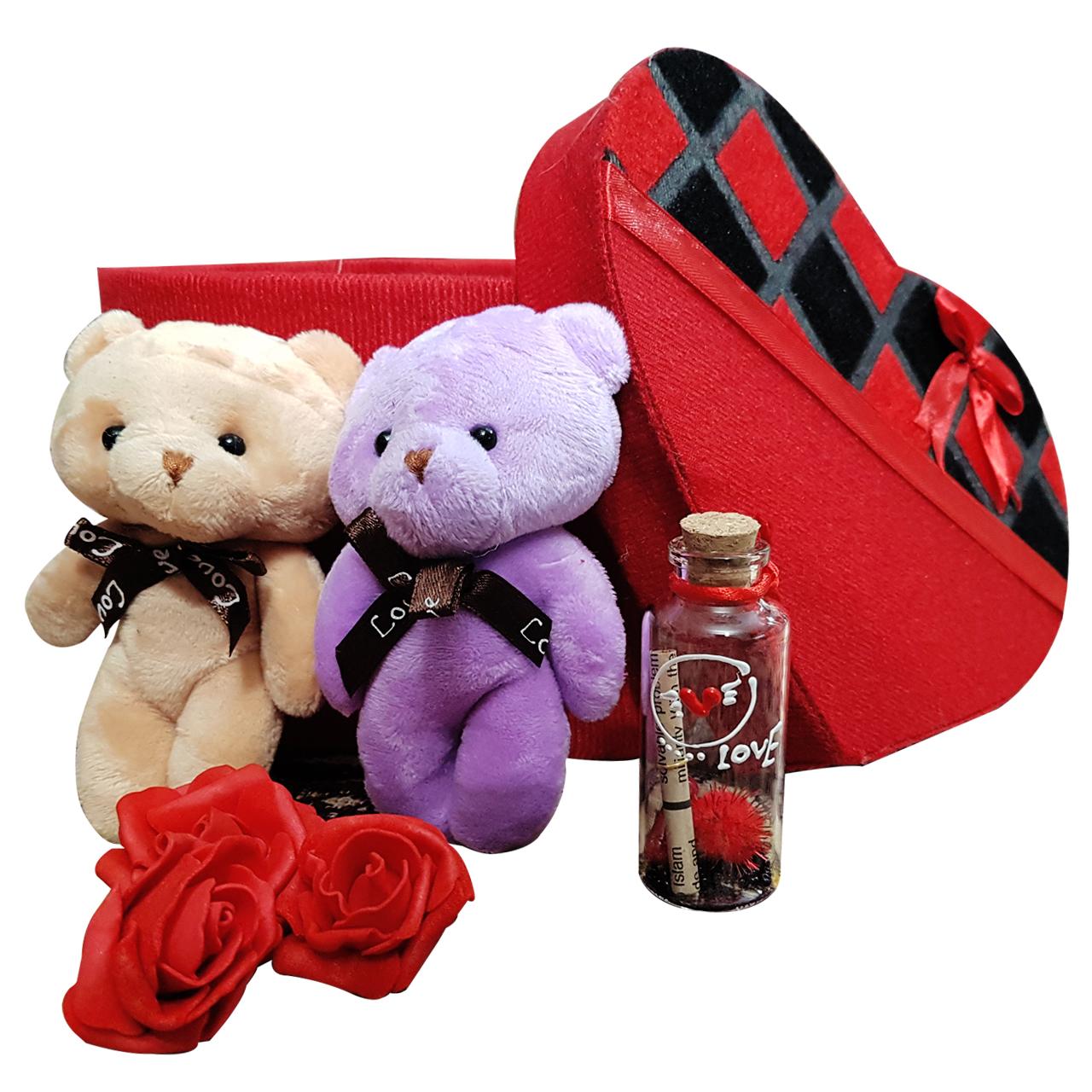 پك هديه و ست هدیه  عروسک خرس كله گنده مدل 12