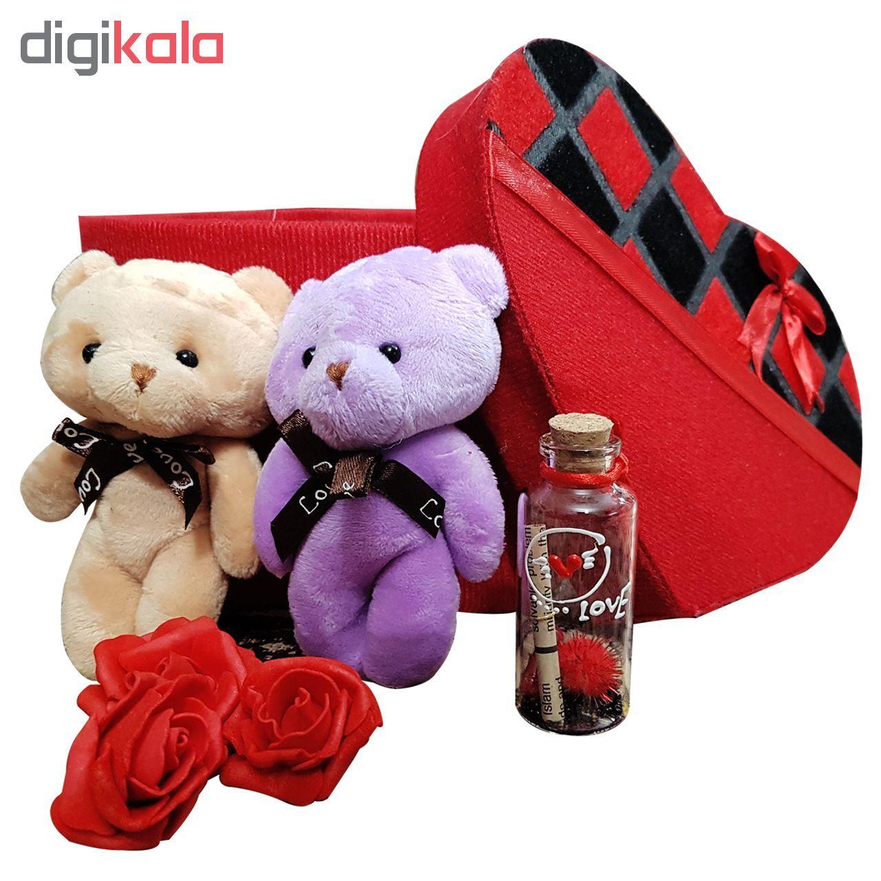 پك هديه و ست هدیه  عروسک خرس كله گنده مدل 12 main 1 1