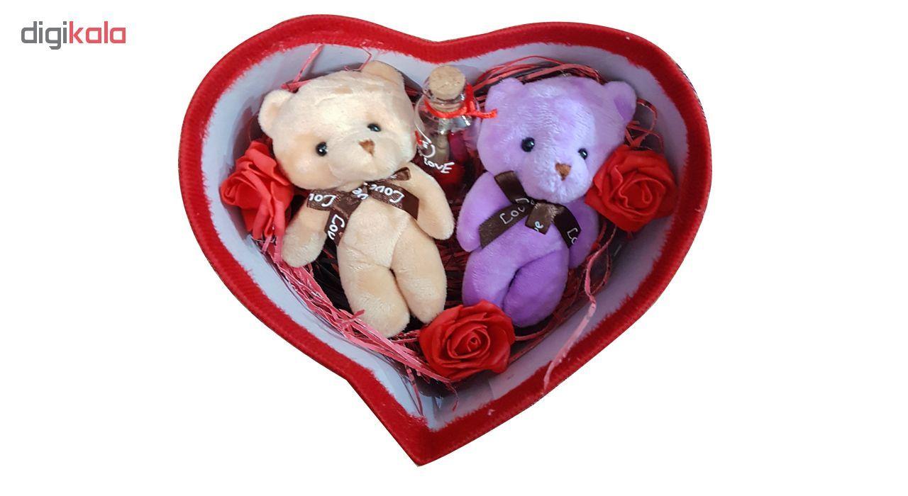 پك هديه و ست هدیه  عروسک خرس كله گنده مدل 12 main 1 2