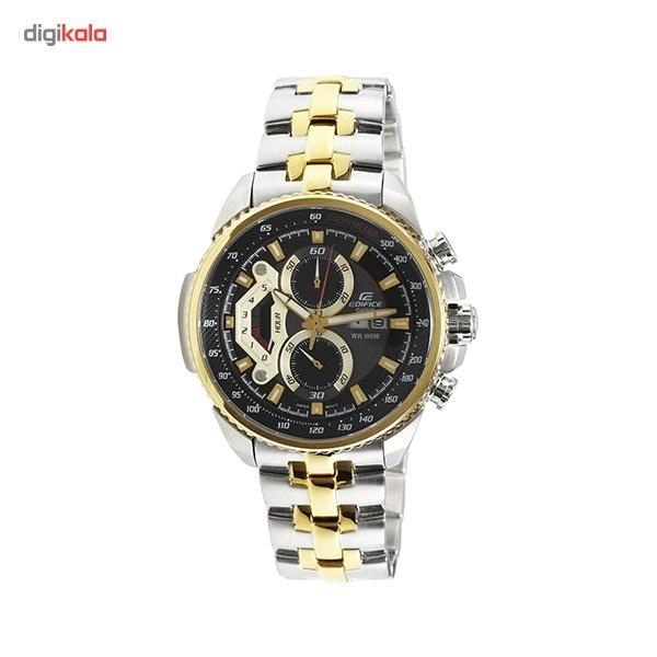 خرید ساعت مچی عقربه ای مردانه کاسیو مدل Edifice EF-558SG-1AVUDF