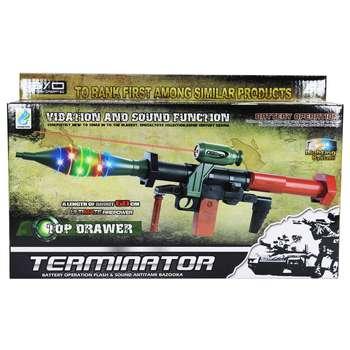 تفنگ اسباب بازی مدل RPG-c01 |