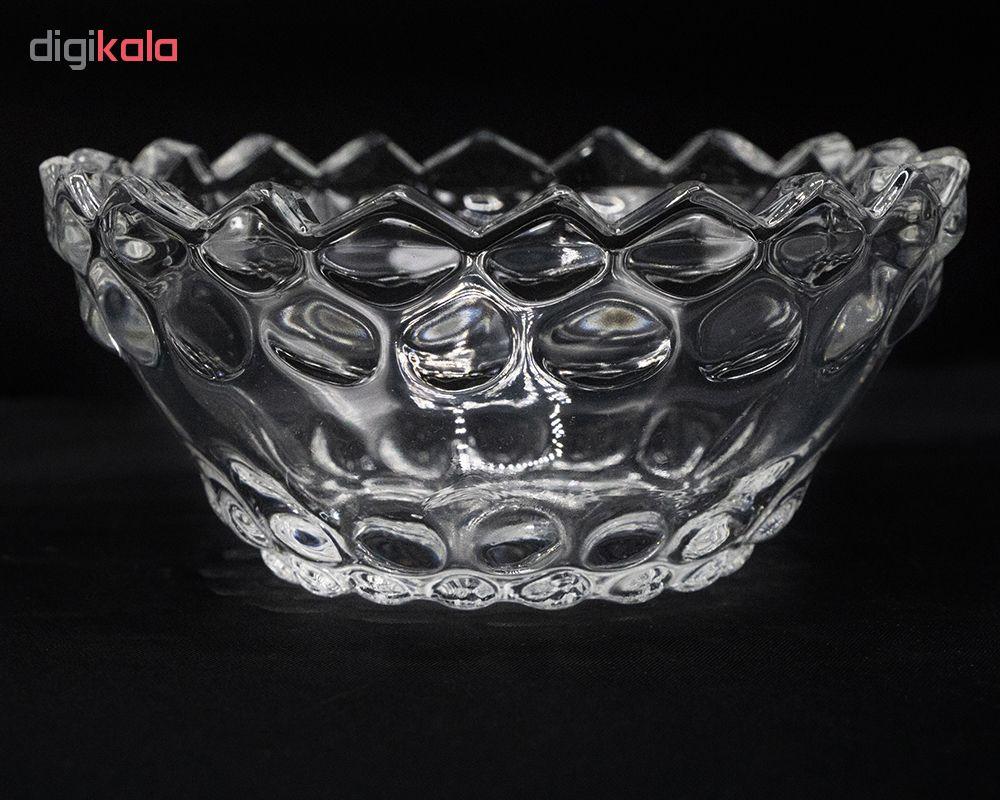 پیاله شیشه و بلور اصفهان مدل یاقوت 903 بسته 6 عددی