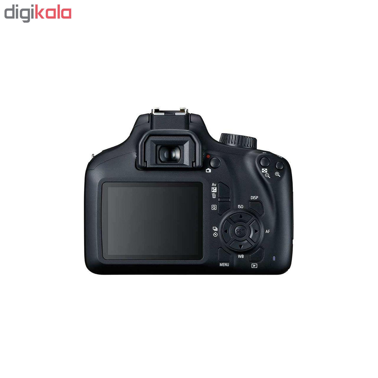 دوربین دیجیتال کانن مدل EOS 4000D به همراه لنز 18-55 میلی متر DC III و لوازم جانبی main 1 3