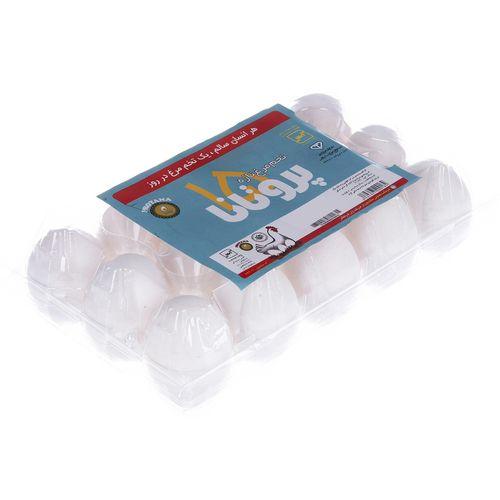 تخم مرغ تازه پروتانا بسته 15 عددی