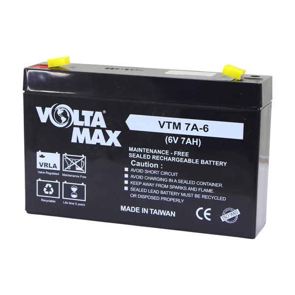 باتری 6 ولت 7 آمپر ولتامکس مدل 6v-7Ah
