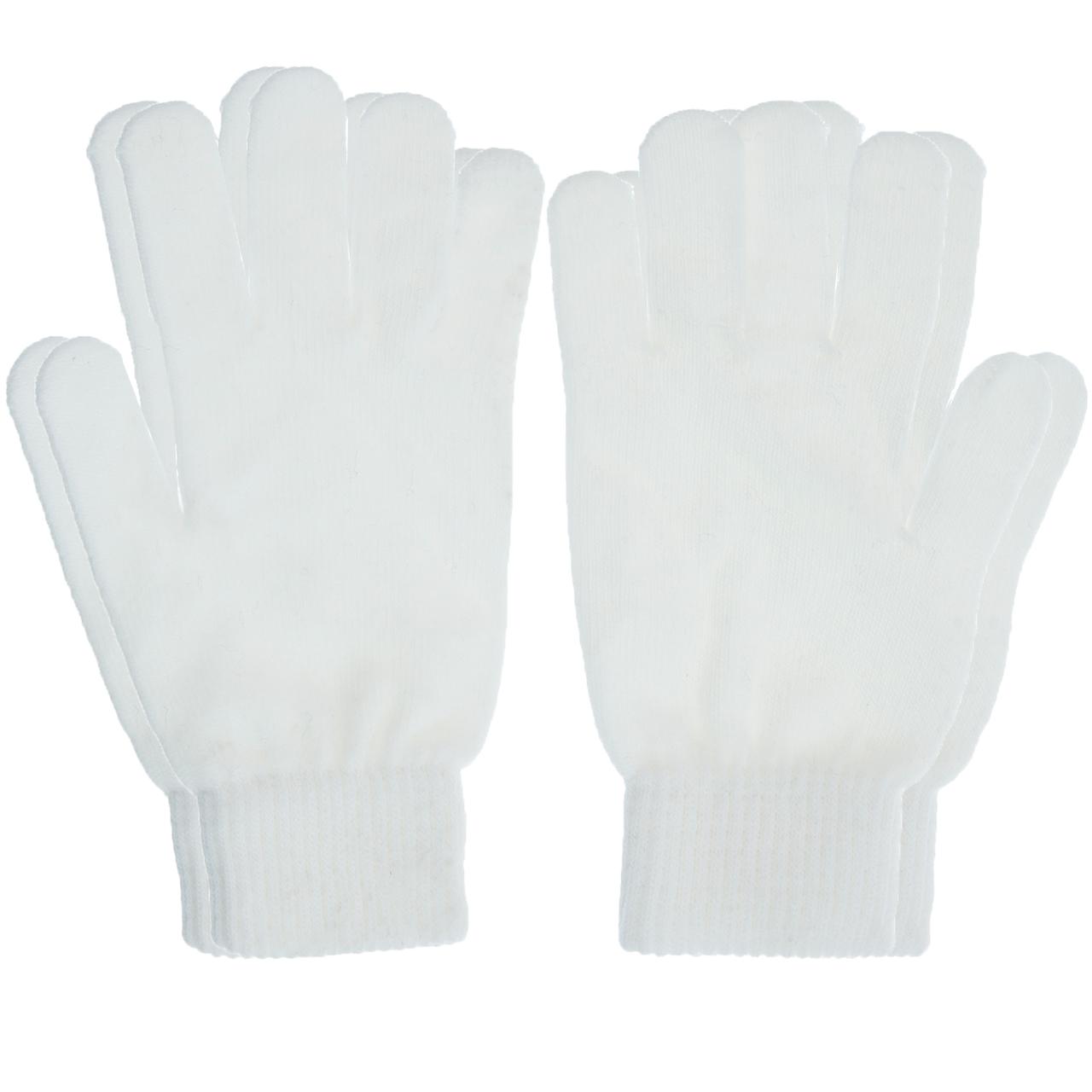 دستکش کد239 سفید بسته 2 عددی