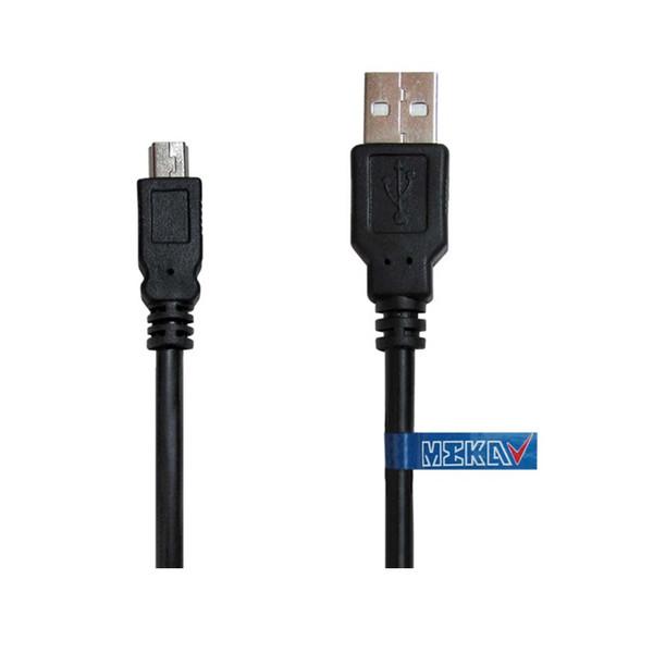 کابل تبدیل USB به miniUSB مکا مدل MCU21 طول 0.30 متر