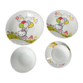 سرویس غذا خوری 5 پارچه کودک مدل P01