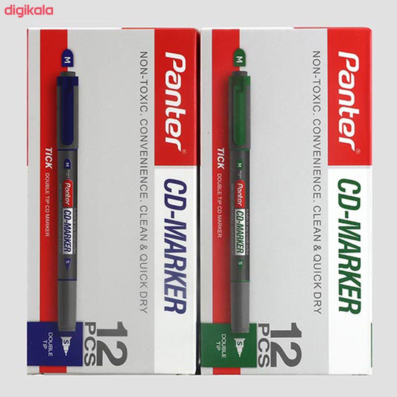 ماژیک سی دی پنتر مدل CDM102 بسته 6 عددی  main 1 9