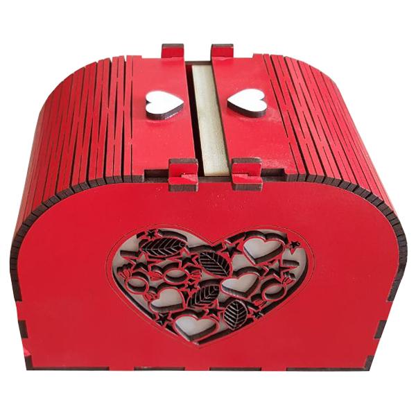 عکس جعبه هدیه عاشقانه ویژه کادو مدل My Love کد KP72