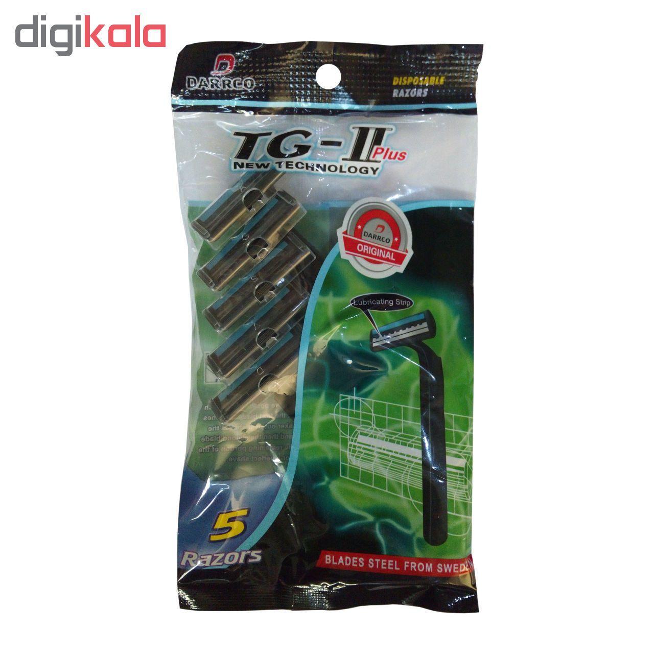 خود تراش دارکو مدل TG-II Plus بسته 5 عددی main 1 1