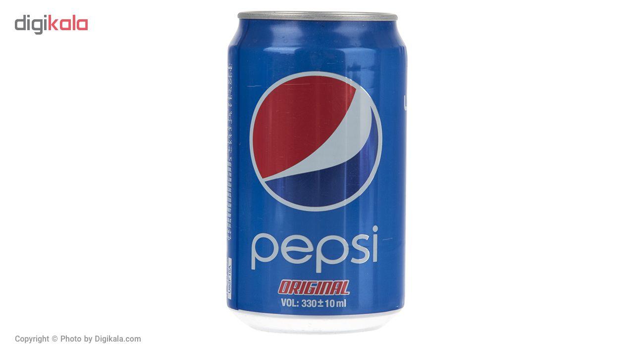 نوشابه گاز دار با طعم کولا پپسی بسته 6 عددی main 1 2