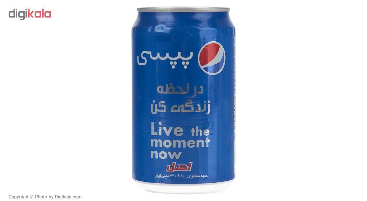 نوشابه گاز دار با طعم کولا پپسی بسته 6 عددی main 1 4