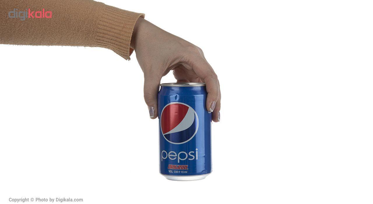 نوشابه گاز دار با طعم کولا پپسی بسته 6 عددی main 1 5