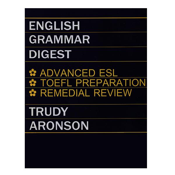 کتاب ENGLISH GRAMMAR DIGEST اثر جمعی از نویسندگان انتشارات رهنما