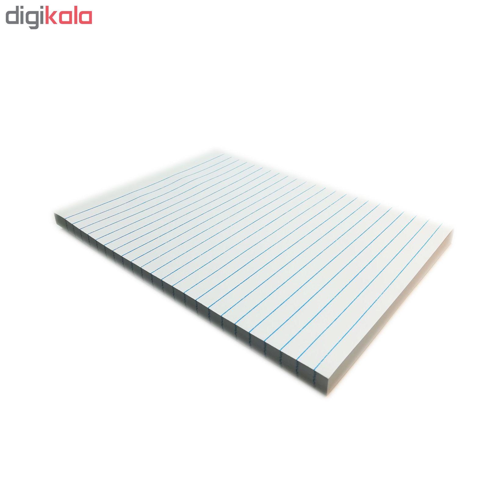 کاغذ یادداشت پشت چسبدار طرح استیک نوک  سایز A5 main 1 2
