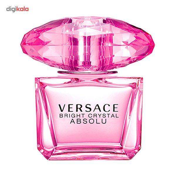 ادو پرفیوم زنانه ورساچه مدل Bright Crystal Absolu حجم 90 میلی لیتر  Versace Bright Crystal AbsoluE