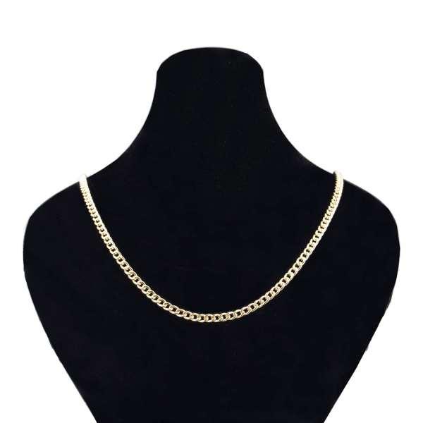 قیمت زنجیر طلا 18 عیار گالری مرجان مدل 0876