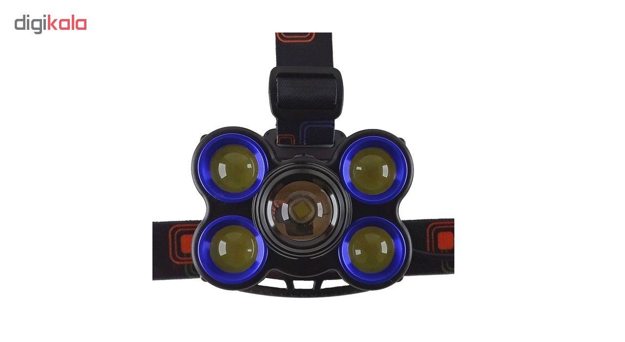 چراغ پیشانی مدل Rotary