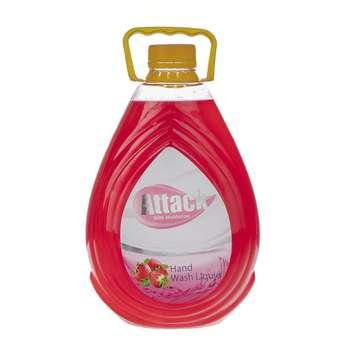 مایع دستشویی صدفی اتک مدل Strawberry حجم 2500 میلی لیتر