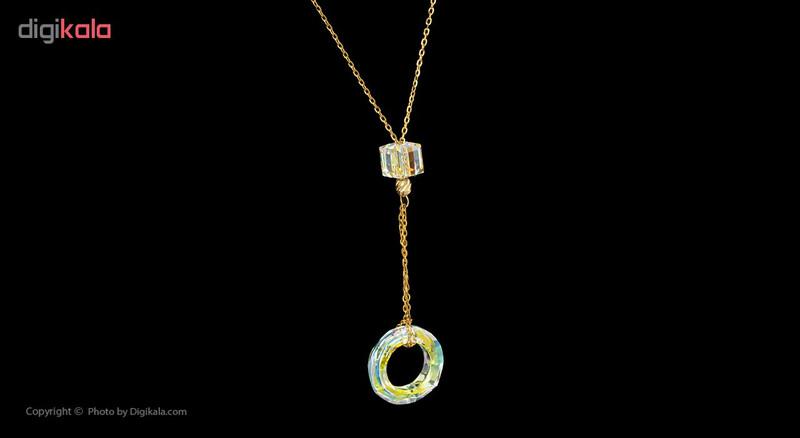 گردنبند طلا 18 عیار مایا ماهک کد MM0872