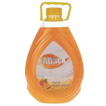 مایع دستشویی صدفی اتک مدل Orange حجم 2500 میلی لیتر