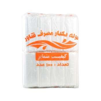 حوله یکبار مصرف شاور مدل 65G40*80 بسته 800 عددی | Shaver 65G40x80 Disposable Towel 800 Pieces