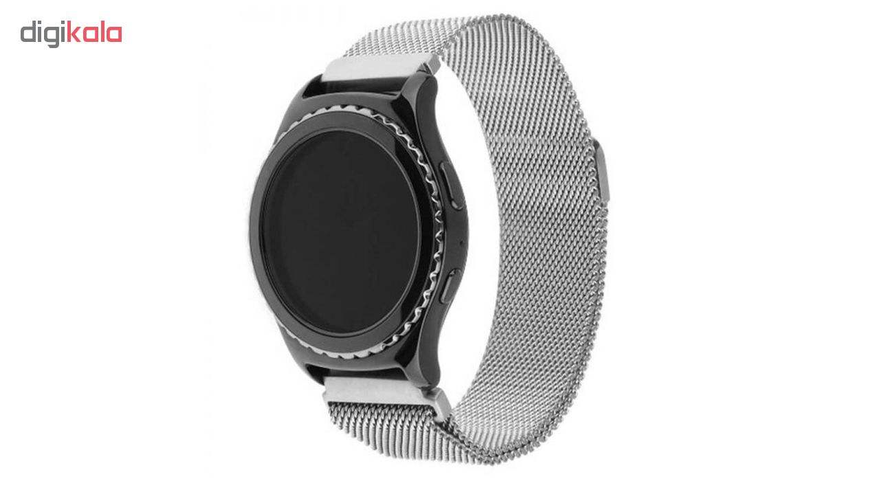 بند مدل Milanese Loop مناسب برای ساعت هوشمند سامسونگ Gear S2 Classic / Gear Sport / Galaxy Watch 42mm main 1 4