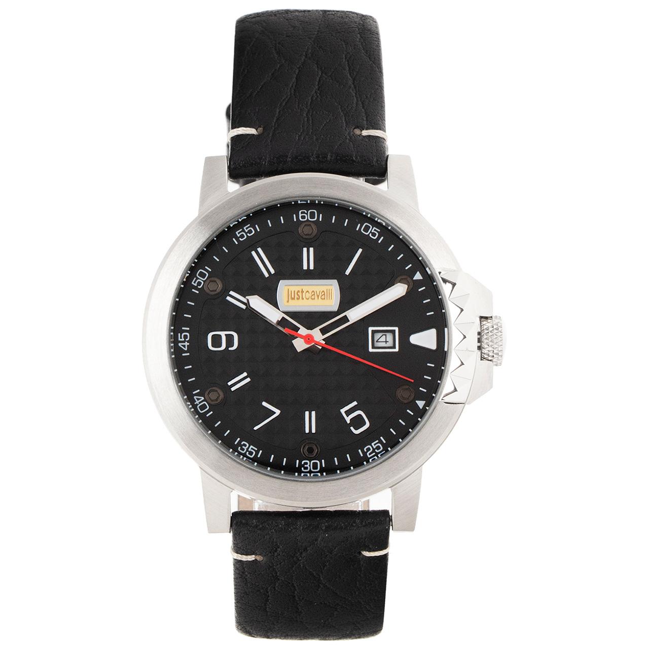 ساعت مچی عقربه ای مردانه جاست کاوالی مدل JC1G016L0045