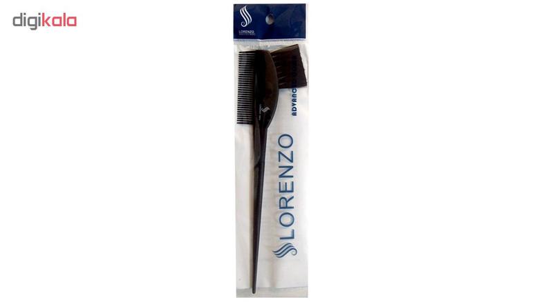قلم و شانه رنگ موی لورنزو مدل C5014