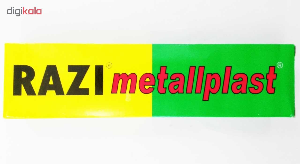 چسب آهن رازی مدل Metallplast حجم 100 میلی لیتر بسته 2 عددی main 1 5