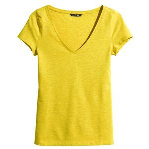 تی شرت آستین کوتاه زنانه اچ اند ام مدل 0215248069