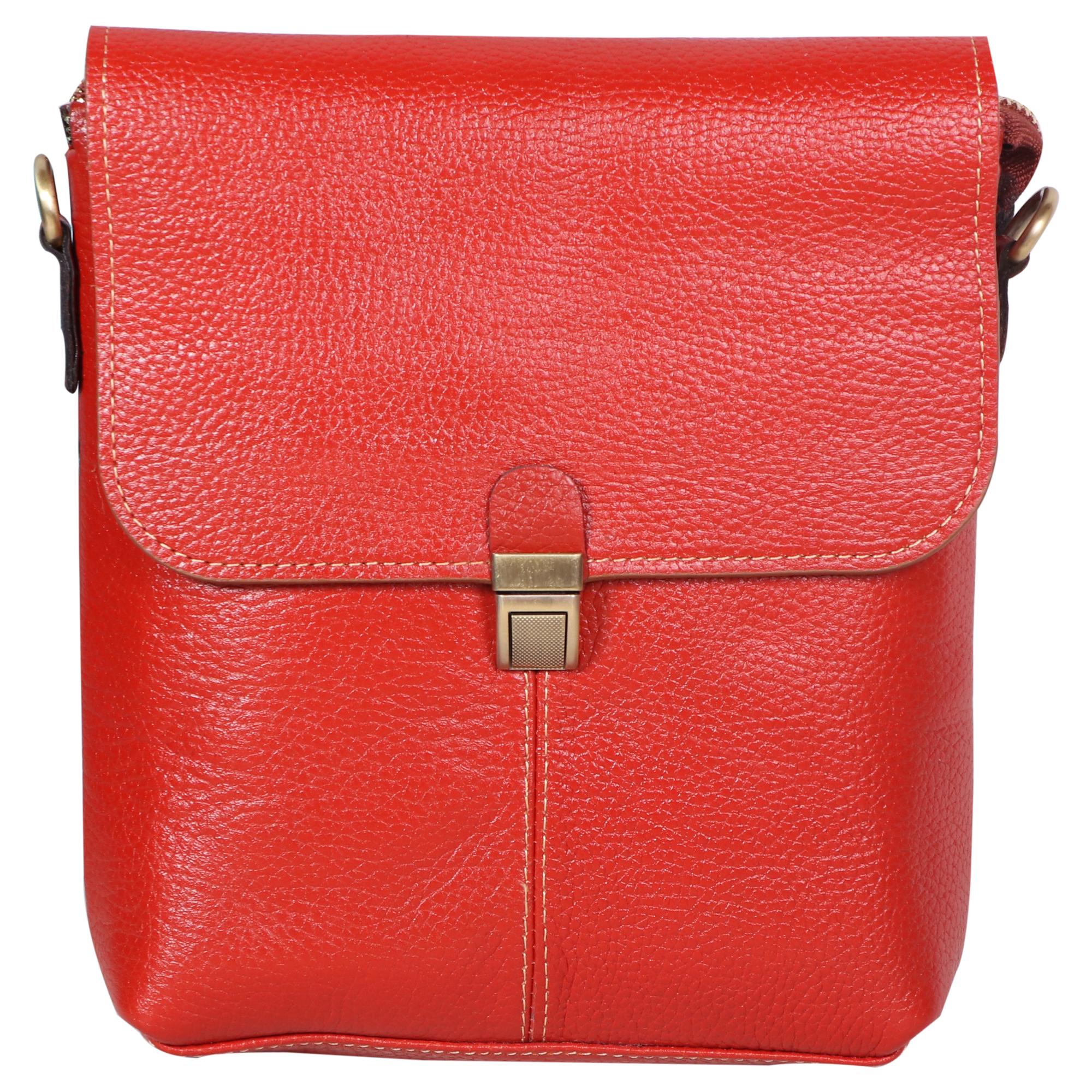 کیف دوشی راسا چرم طبیعی