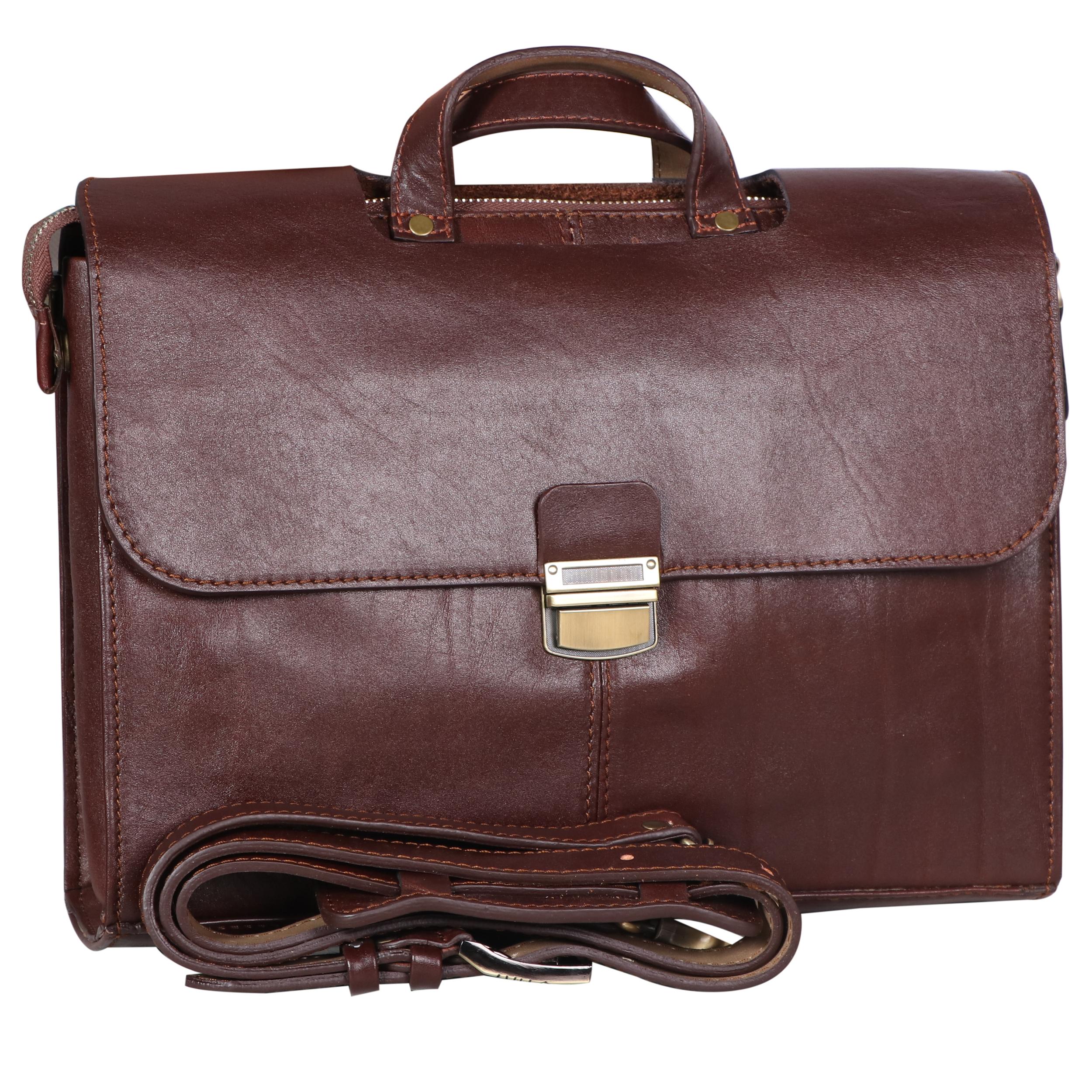 کیف اداری چرم طبیعی راسا
