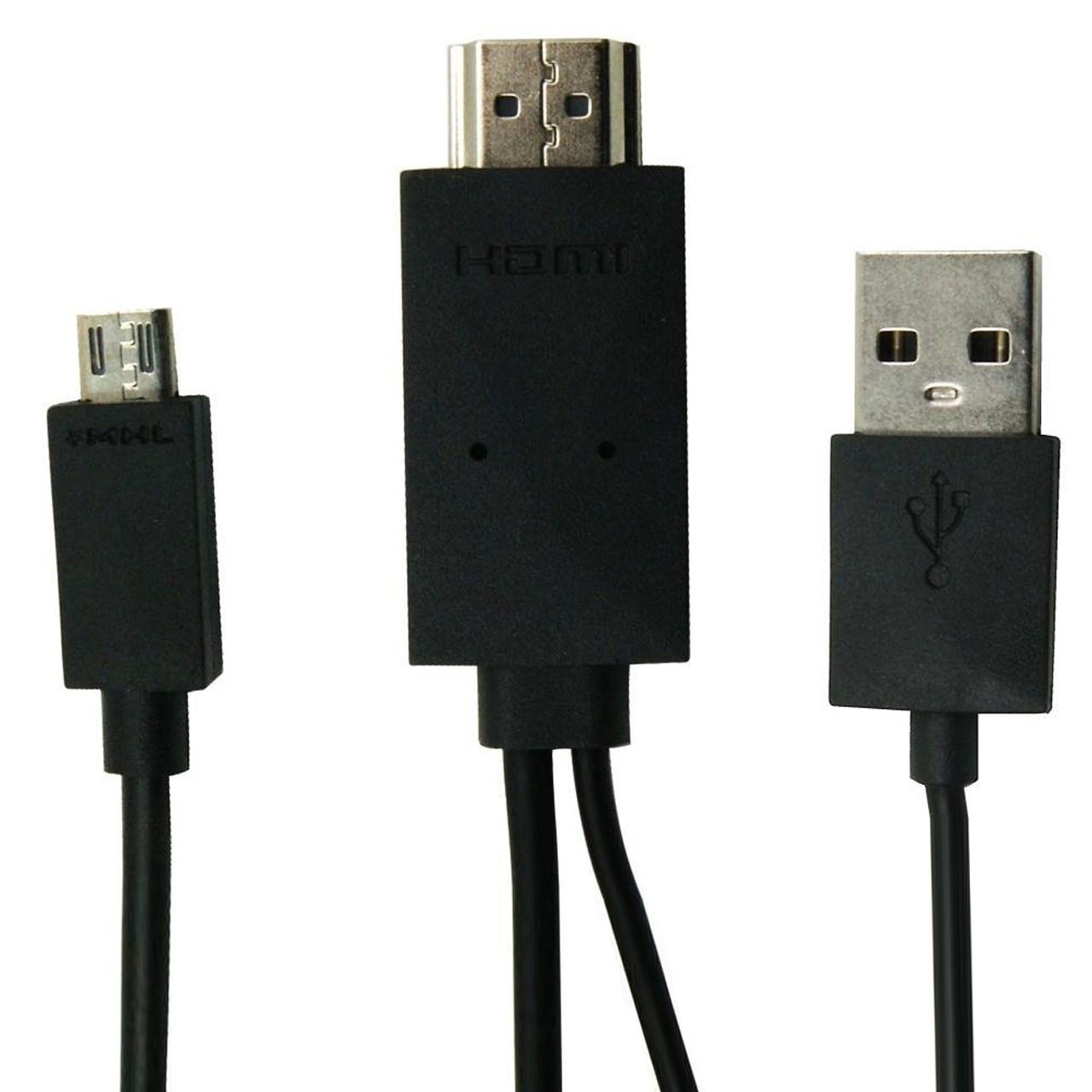 کابل تبدیل MHL به HDMI طول 1.8 متر              ( قیمت و خرید)