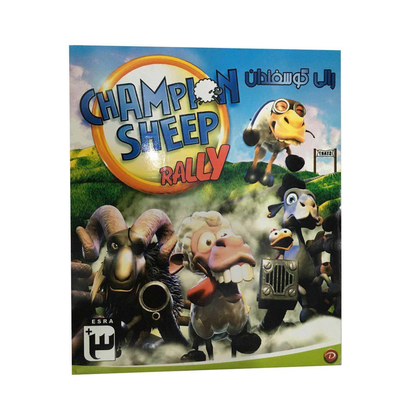 بازی رالی گوسفندان مخصوص Pc