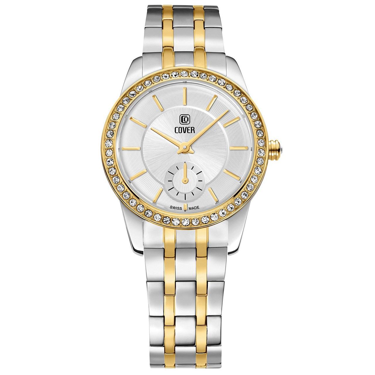 ساعت مچی عقربه ای زنانه کاور مدل Co174.04