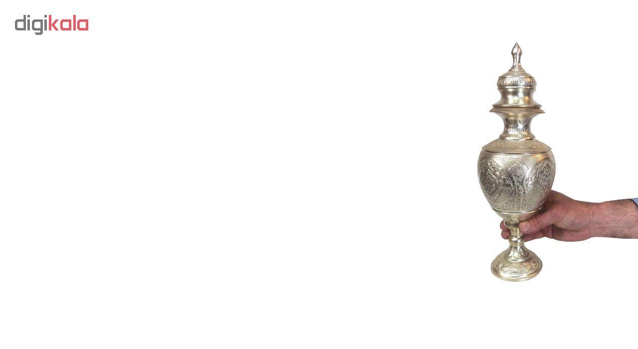 گلاب پاش قلمزنی لوح هنر کد 1171