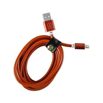 کابل تبدیل USB به microUSB دبلیو یو دبلیو مدل X01 طول 2 متر