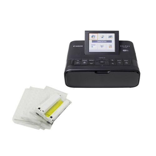 پرینتر بی سیم کانن مدل SELPHY CP1300 به همراه کاغذ چاپ عکس 54 عددی