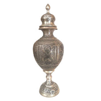 گلاب پاش قلمزنی لوح هنر طرح پتینه کد 1173