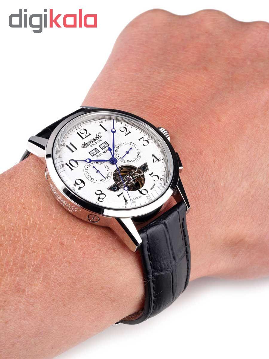 ساعت مچی عقربه ای مردانه اینگرسل مدل IN4411WH
