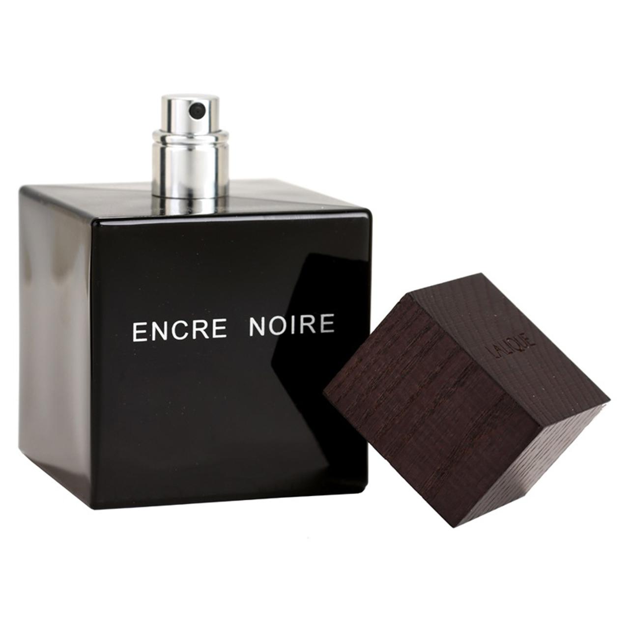 ادو تویلت مردانه لالیک مدل Encre Noire Pour Homme حجم 100 میلی لیتر