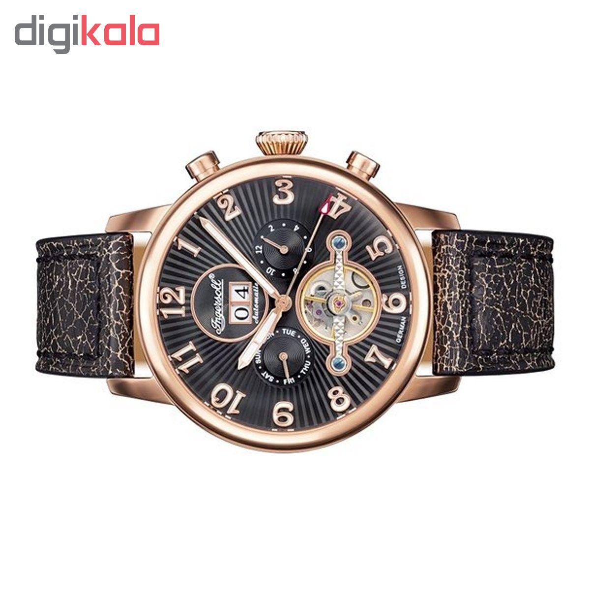 خرید ساعت مچی عقربه ای مردانه اینگرسل مدل IN1103RBK