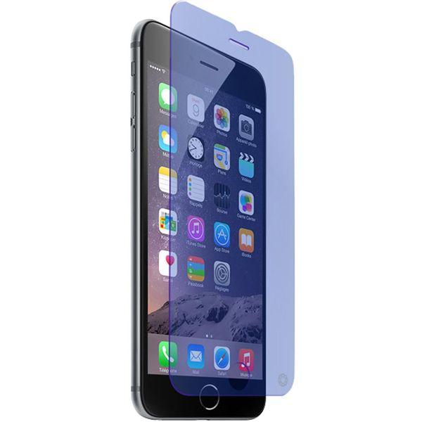 محافظ صفحه نمایش شیشه ای فورس گلس مدل Anti-Blue مناسب برای گوشی موبایل آیفون 6/6s