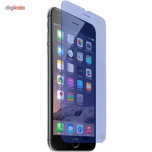 محافظ صفحه نمایش شیشه ای فورس گلس مدل Anti-Blue مناسب برای گوشی موبایل آیفون 6/6s main 1 1