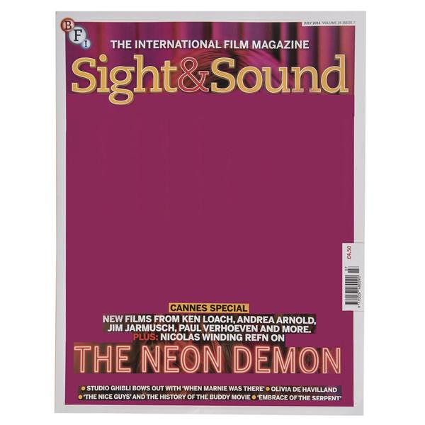 مجله Sight & Sound - جولای 2016