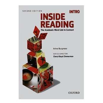 کتاب INSIDE READING INTRO اثر ارلین برگمیر انتشارات آکسفورد